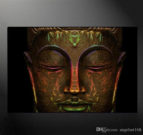 buddha oil painting wall art paintings picture paiting 2018 unframed buddha head wall art oil painting on canvas
