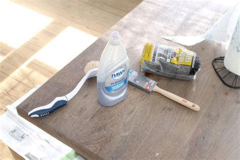 how to distress a coffee table how to distress a shabby chic coffee table the easy way