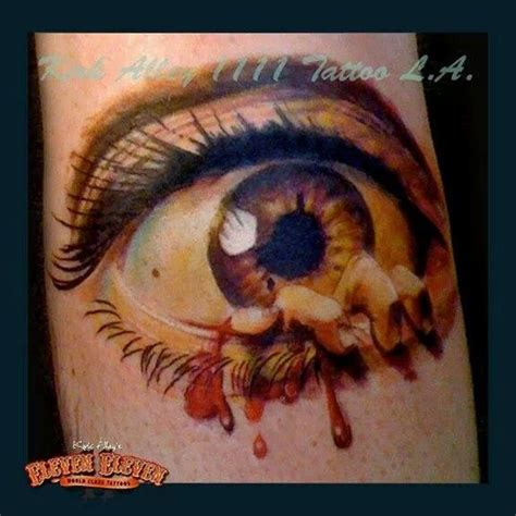 tattoo alley 20 best images about realistic eye tattoos on