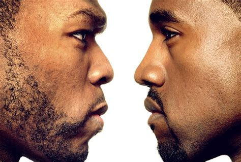 Majalah Rolling Nov 2007 50 Cent Vs Kanye West kanye west a genius in praise of himself rolling
