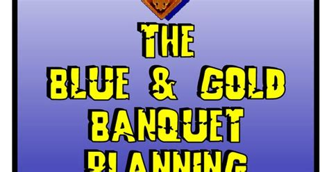 cub scout blue and gold program template blue and gold program template blue and gold banquet