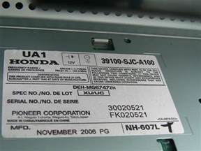 honda car radio reset wiring diagram website