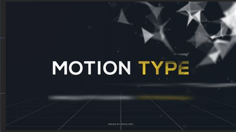 motion text templates motion type text after effects template videohive