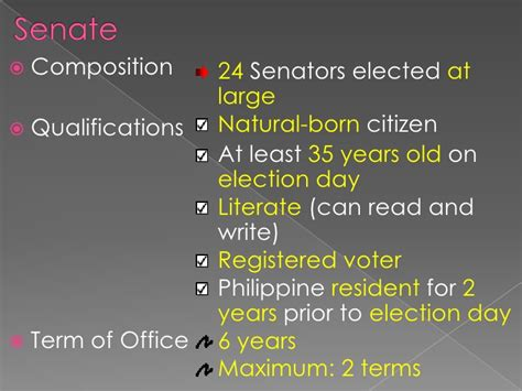 house of representatives term of office the legislative department