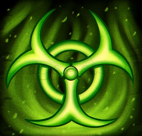 biohazard logo tutorial video copilot making a biohazard drawing step by step symbols pop