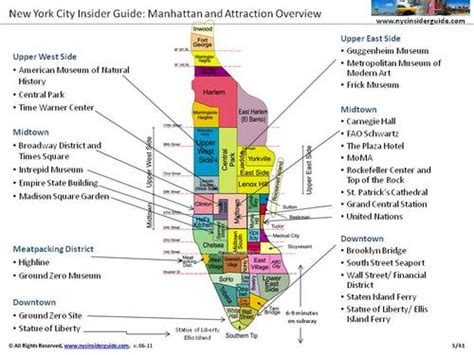 tourist map of new york city new york map for tourists