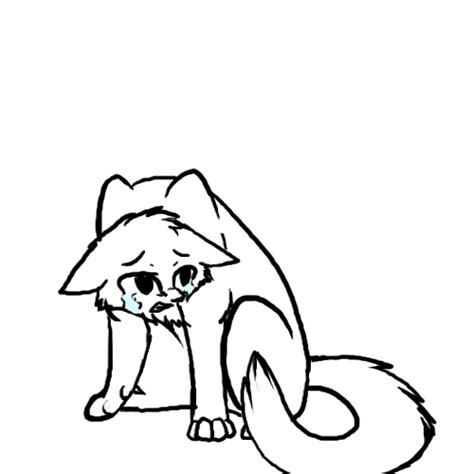 sad cat coloring page free cat line art download free clip art free clip art