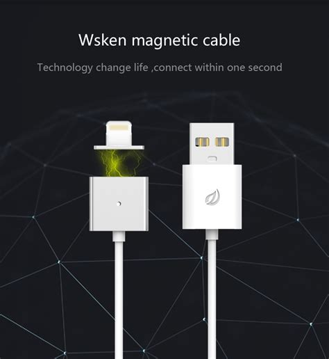 Sugu Snap 03 Magnetic Charging Dock Iphone metal magnetic lightning usb x cable iphone charging king premium phone accessories
