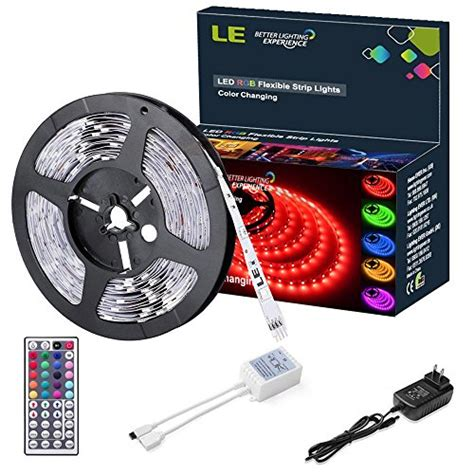 Lu Led 5050 Rgb 16 Colors With Remote le 12v rgb led light kit color changing 150 units 5050 leds non waterproof
