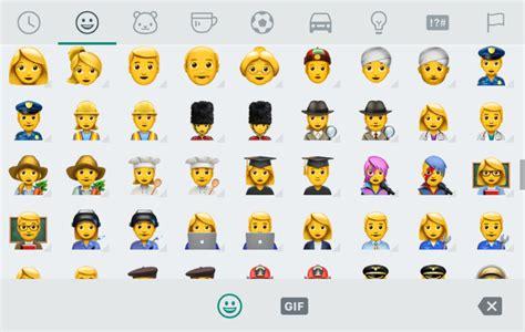 emoji whatsapp android whatsapp android beta brings dozens of new emoji