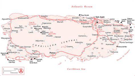 printable map puerto rico puerto rico maps