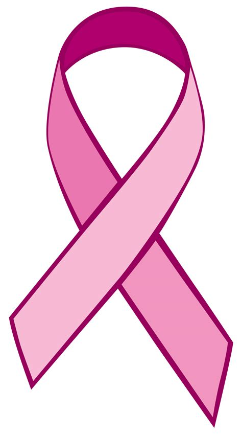 breast cancer ribbon clip breast cancer awareness clipart clipart best