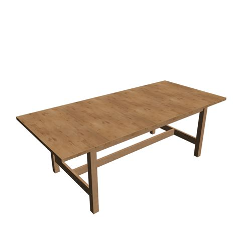 Ikea Norden Dining Table Norden Extendable Table Birch Design And Decorate Your Room In 3d