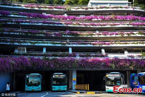 the most beautiful parking garage in america the design most beautiful parking lot seen in south china city