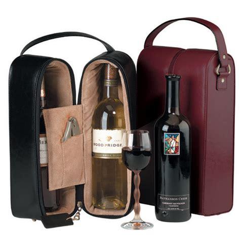 monogrammed wine tote