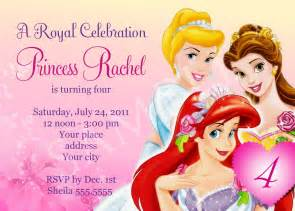 princess birthday invitations template free free birthday invitation templates drevio