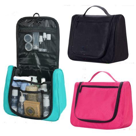 Hanging Toiletries Bag Organizer Hanging Travel Toiletry Cosmetic Makeup Bag Organizer Kit Black Ebay