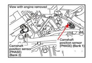 P0340 Nissan Murano Camshaft Position Sensor Circuit Replacement In Pathfinder