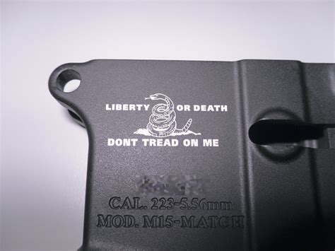 Laser Engraving A Lower Receiver Video Ar15 Com