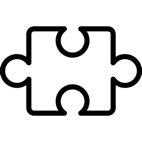 la pieza del fondo pieza del rompecabezas esquema dentro de un c 237 rculo descargar iconos gratis