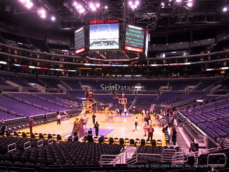 section 106 staples center clippers lakers staples center section 106