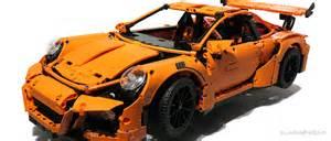 Lego Porsche 911 Gt3 Rs Lego Technic Porsche 911 Gt3 Rs Review Slashgear