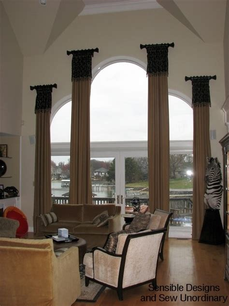 how to make arch window rods ehow 25 best pipe curtain rods images on