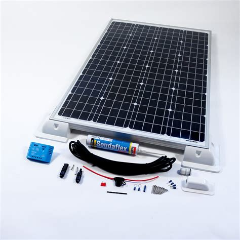 solar marine battery charger 80w 12v solar battery charger vehicle kit