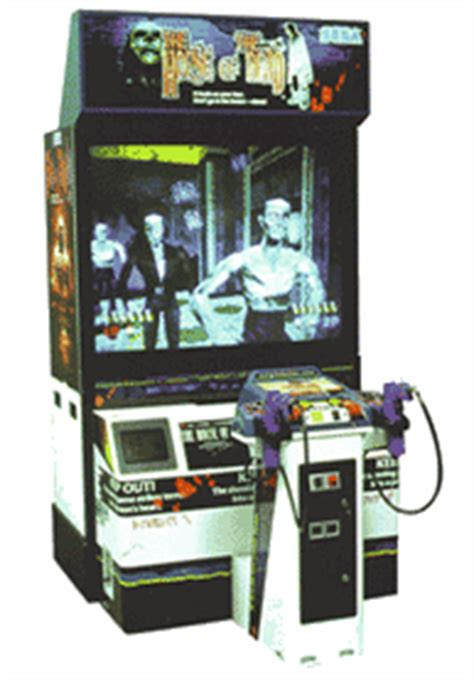 buy house of the dead arcade machine house of the dead the videogame by sega