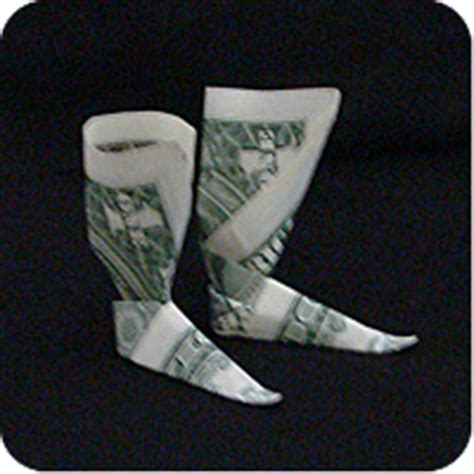 Origami Boot Dollar Bill - money boots make origami