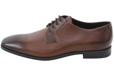 brown oxfords s shoes hugo s square derb lsps medium brown leather