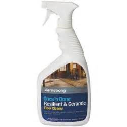 Armstrong Once N Done Resilient And Ceramic Floor Cleaner by Armstrong Once N Done Resilient Ceramic