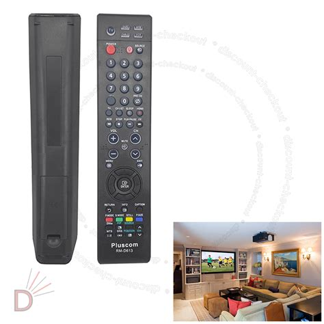 Remote Led Lcd Universal Samsung Ssl09 all universal replacement remote for samsung tv