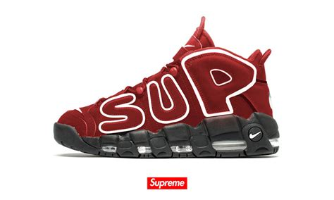 nike supreme air supreme x nike air more uptempo here s what it might look