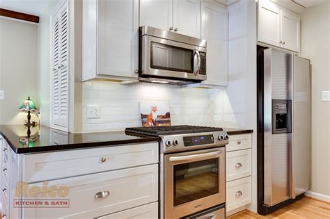 Kitchen Design Rockville Md Transitional White Kitchen Remodel In Rockville Md Transitional Kitchen Other Metro By