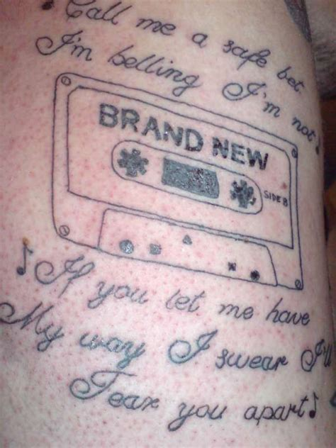 brand new tattoo brand new band lyrics www pixshark images