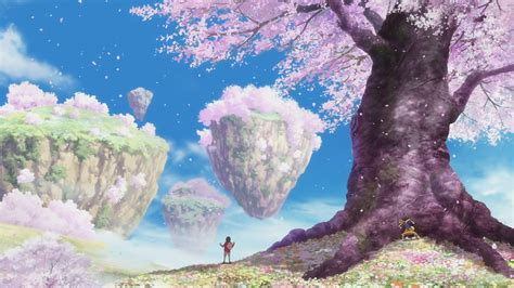 cherry tree anime image merveille cherry tree forest png the one wiki anime marines