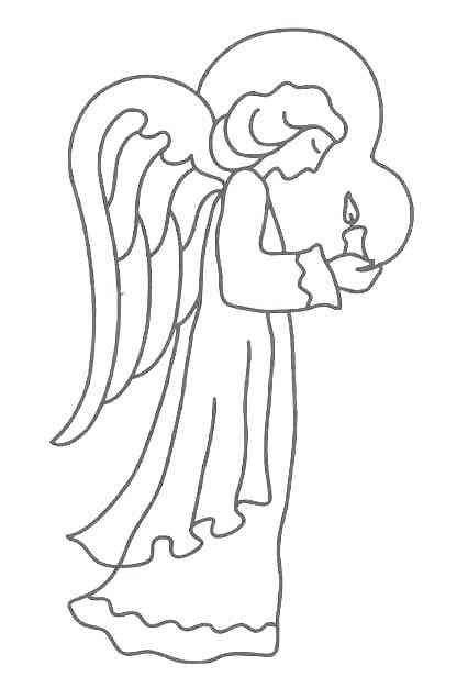 Engel (12) malvorlagen