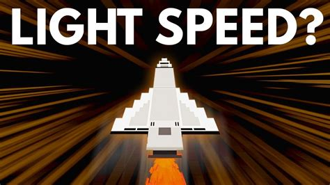 how fast is the speed of light what if you traveled faster than the speed of light