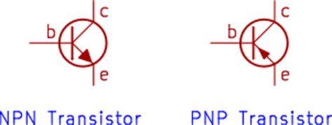 transistor npn pnp symbol npn transistor basic information for beginners starting in electronics
