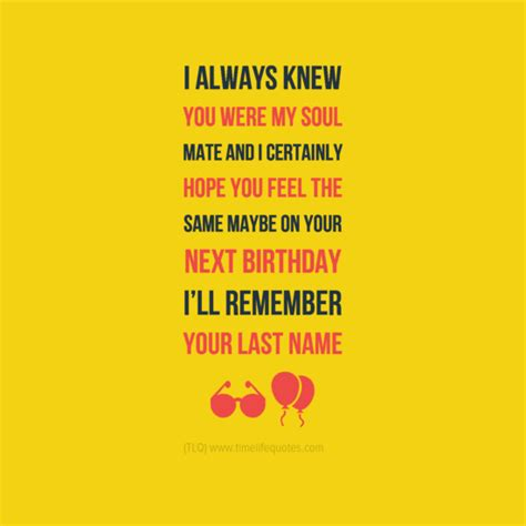 Birthday Quotes On Funny Birthday Quotes For Boyfriend Quotesgram
