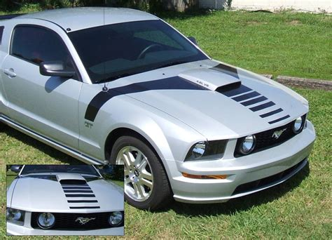 2005 Mustang Hp by Graphic Express 2005 09 Mustang Scoop Decal Set