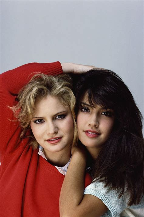 jennifer jason leigh young pictures jennifer jason leigh and phoebe cates fast times we