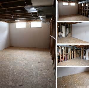 Sub Floor basement renovation dricore subfloor installation