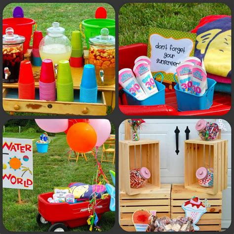 summer themes summer birthday party themes for kids home party ideas