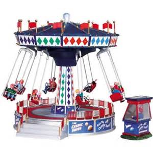 lemax carnival sights sounds the cosmic swing 94956