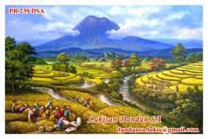 Lukisan bunga mawar sangat indah lukisan indonesia art holidays oo