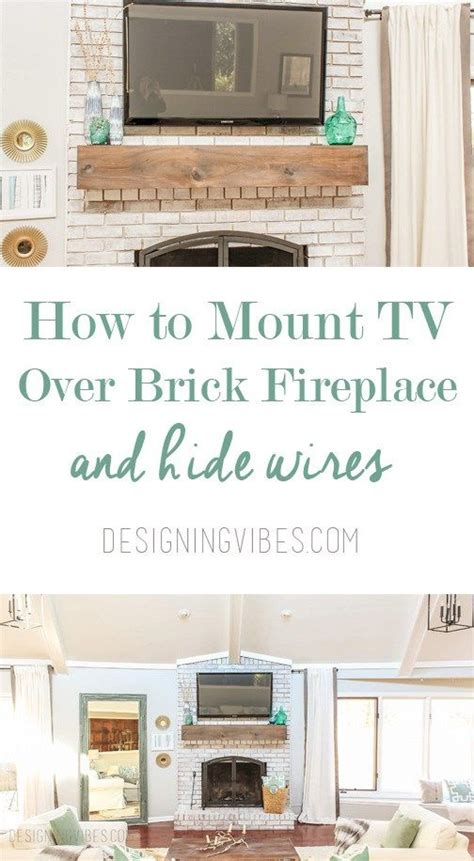 Can You Mount Tv Fireplace by 25 Best Ideas About Tv Fireplace On Tv