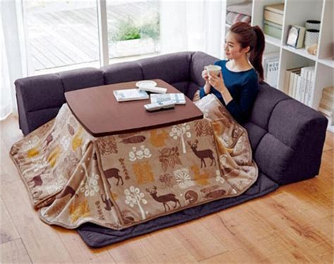 japanese heated table heated table bed