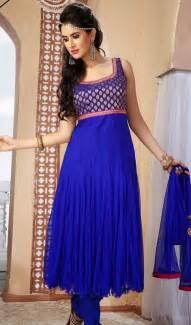 contemporary blue net plus size chudidar dress canada